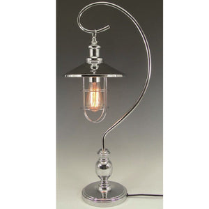 Edison Bulb Desk Lamp Silver 59cm Buy Instore or online at beattys.ie