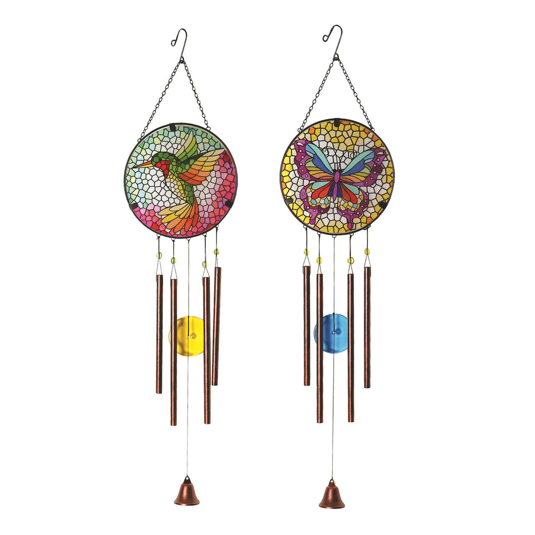 Decorative Windchime Glass 86cm - One Supplied Buy Instore or online at beattys.ie