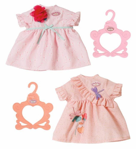 BABY ANNABELL DAY DRESS ASST 43CM  At Beattys Loughrea Galway. Www.beattys.ie