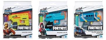 Nerf Microshots Fortnite Asst. Buy at Beattys Loughrea Galway. Www.beattys.ie