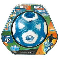 Smart Ball Football Kick Up Counting. Buy at Beattys Loughrea Galway. Www.beattys.ie