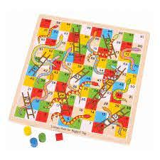 Classic Wood Snakes & Ladders - Beattys of Loughrea , www.beattys.ie