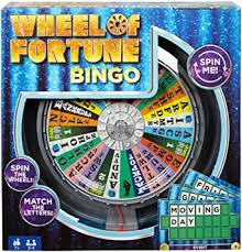 Wheel of Fortune Bingo Game  At Beattys Loughrea Galway. Www.beattys.ie