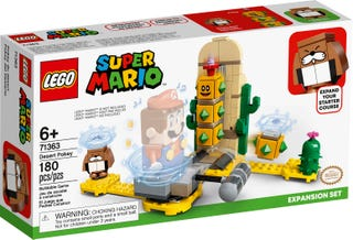 Lego 71363 Mario Desert Pokey Expansion Set. Buy at Beattys Loughrea Galway. Www.beattys.ie