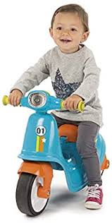 Smoby Blue Scooter. Buy at Beattys Loughrea Galway. Www.beattys.ie