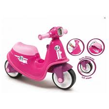 Smoby Pink Scooter. Buy at Beattys Loughrea Galway. Www.beattys.ie