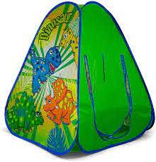 Dinosaur Pop Up Tent. Buy at Beattys Loughrea Galway. Www.beattys.ie
