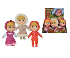 Masha Soft Body 23Cm Doll Asst Buy Instore or online at beattys.ie