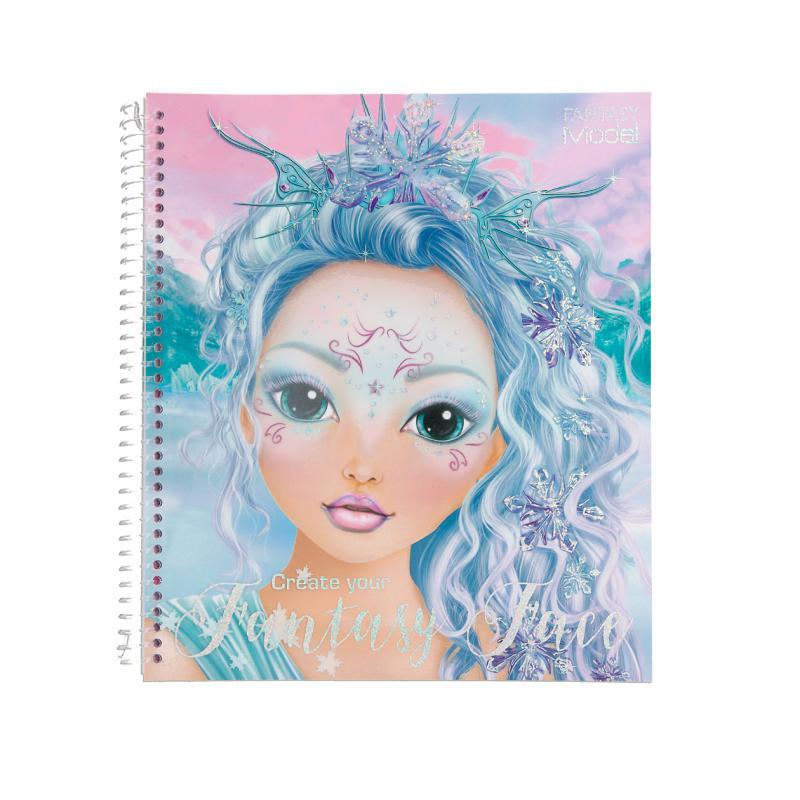 Create Your Fantasy Face Colouring Book Buy Instore or online at beattys.ie