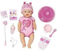 Baby Born Bath Soft Touch Girl 43Cm Buy Instore or online at beattys.ie
