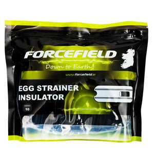 Forcefield Egg Insulators 10Pk  At Beattys Loughrea Galway. Www.beattys.ie