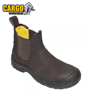 Cargo Dealer Slip On Safety Boots - Black  At Beattys Loughrea Galway. Www.beattys.ie