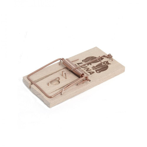 Luna Ultra Power Wooden Rat Trap  At Beattys Loughrea Galway. Www.beattys.ie