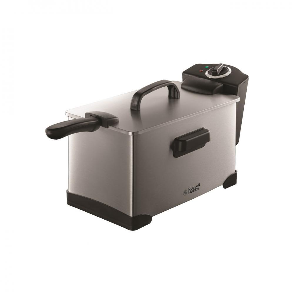 Russell Hobbs Brushed Steel Pro Fryer - 3.2 Litre  At Beattys Loughrea Galway. Www.beattys.ie