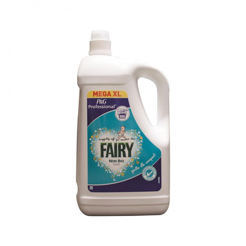 Fairy Professional Non Bio Laundry Liquid - 100 Washes - Beattys of Loughrea , www.beattys.ie