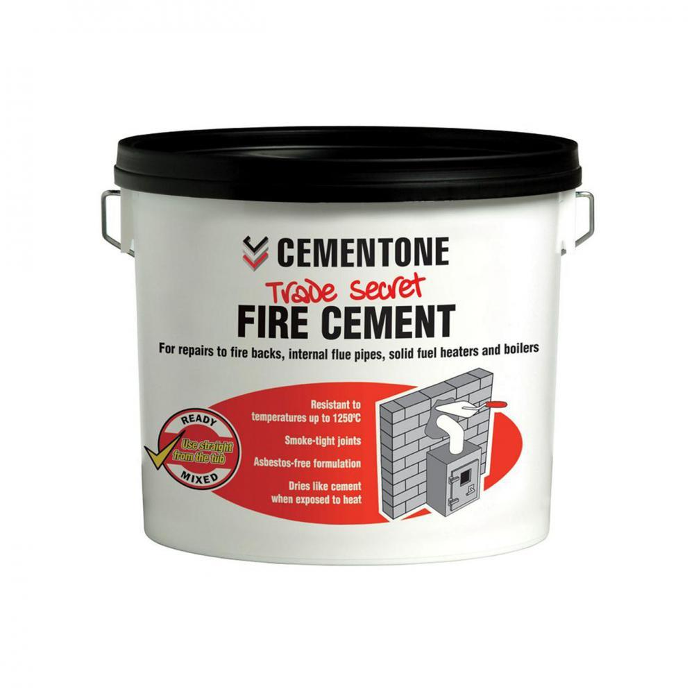Cementone Fire Cement - 5kg  At Beattys Loughrea Galway. Www.beattys.ie