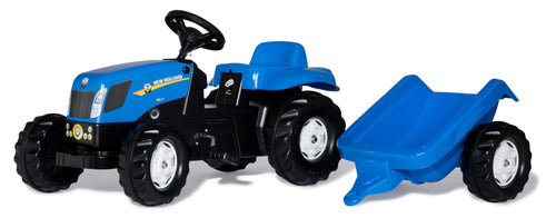 Rolly Kid New Holland Tractor & Trailer  At Beattys Loughrea Galway. Www.beattys.ie