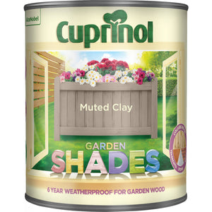 Cuprinol Garden Shades Colours Paint - 1 Litre - Beattys of Loughrea , www.beattys.ie