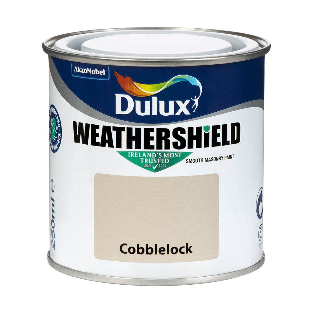 WEATHERSHIELD TESTER 250ML COBBLELOCK  At Beattys Loughrea Galway. Www.beattys.ie