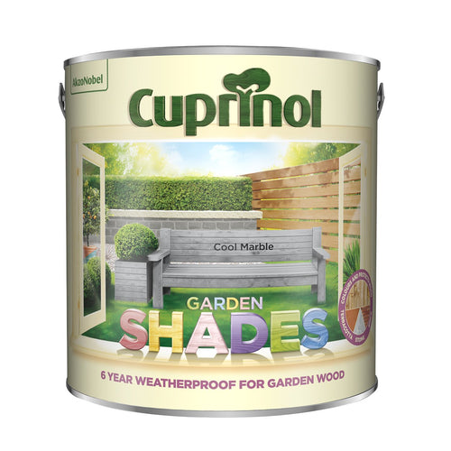 CUPRINOL 2.5L COOL MARBLE GARDEN SHADES  At Beattys Loughrea Galway. Www.beattys.ie