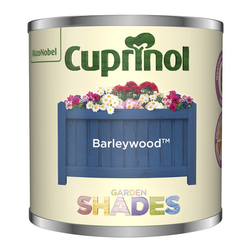 CUPRINOL 125ML BARLEYWOOD TESTER GARDEN SHADES  At Beattys Loughrea Galway. Www.beattys.ie