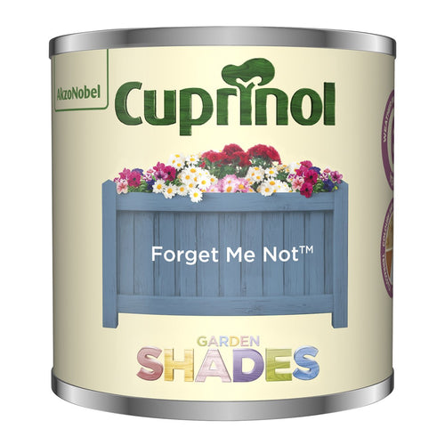 CUPRINOL 125ML FORGET ME NOT TESTER GARDEN SHADES  At Beattys Loughrea Galway. Www.beattys.ie