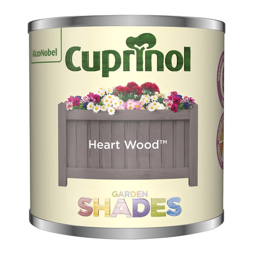 CUPRINOL 125ML HEART WOOD TESTER GARDEN SHADES  At Beattys Loughrea Galway. Www.beattys.ie