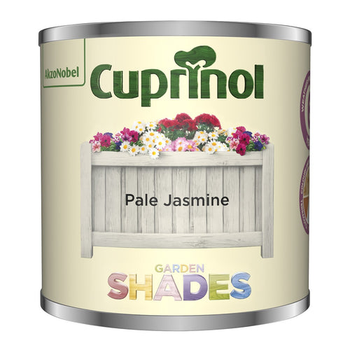 CUPRINOL 125ML JASMINE TESTER GARDEN SHADES  At Beattys Loughrea Galway. Www.beattys.ie