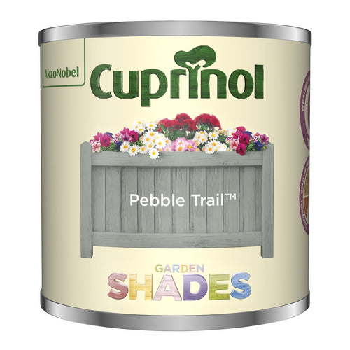 CUPRINOL 125ML PEBBLE TRAIL TESTER GARDEN SHADES  At Beattys Loughrea Galway. Www.beattys.ie