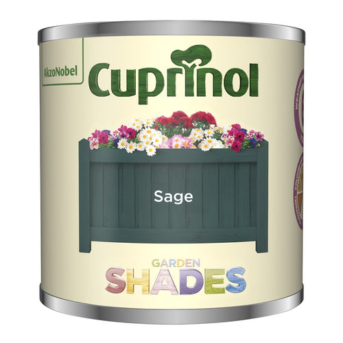 CUPRINOL 125ML SAGE TESTER GARDEN SHADES  At Beattys Loughrea Galway. Www.beattys.ie