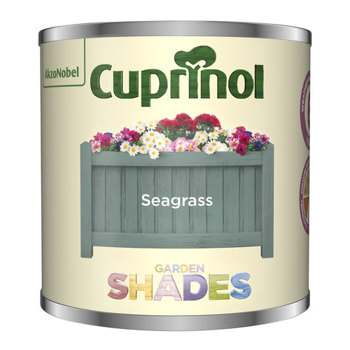 CUPRINOL 125ML SEAGRASS TESTER GARDEN SHADES  At Beattys Loughrea Galway. Www.beattys.ie