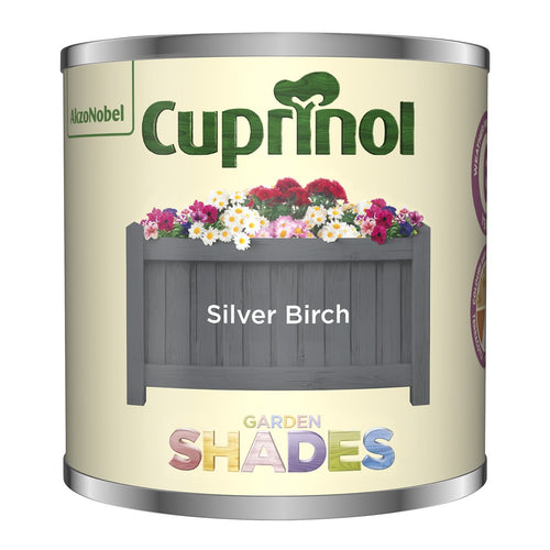 CUPRINOL 125ML SILVER BIRCH TESTER GARDEN SHADES  At Beattys Loughrea Galway. Www.beattys.ie