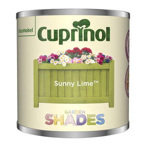 CUPRINOL 125ML SUNNY LIME TESTER GARDEN SHADES Buy Instore or online at beattys.ie