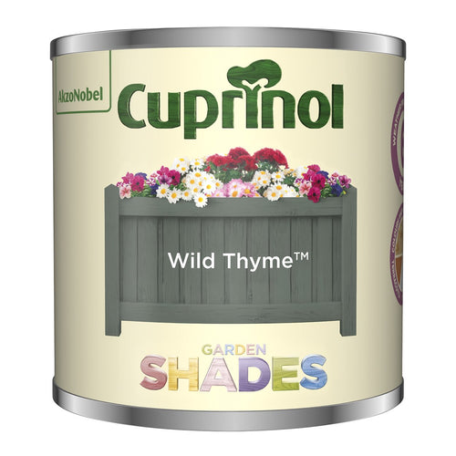 CUPRINOL 125ML WILD THYME TESTER GARDEN SHADES  At Beattys Loughrea Galway. Www.beattys.ie
