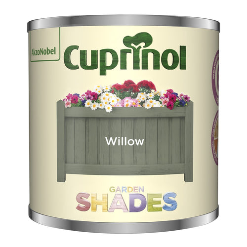 CUPRINOL 125ML WILLOW TESTER GARDEN SHADES  At Beattys Loughrea Galway. Www.beattys.ie