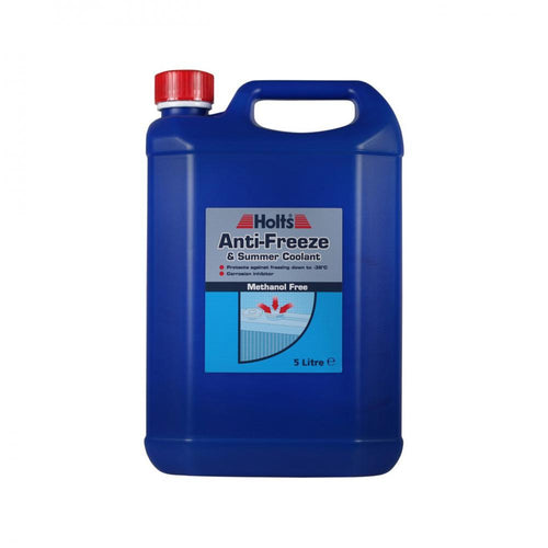 Holts Anti-Freeze & Summer Coolant - 5 Litre Buy Instore or online at beattys.ie