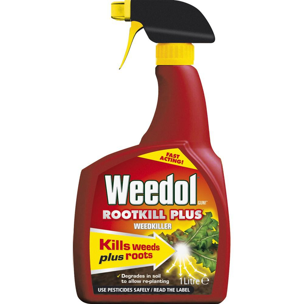 Weedol Rootkill Plus Gun - 1 Litre  At Beattys Loughrea Galway. Www.beattys.ie