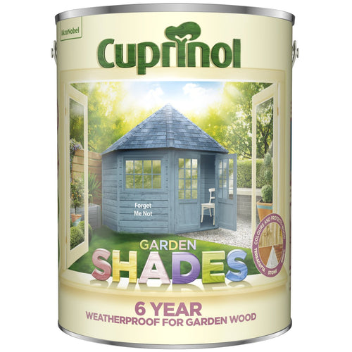 CUPRINOL 5L FORGET ME NOT GARDEN SHADES  At Beattys Loughrea Galway. Www.beattys.ie