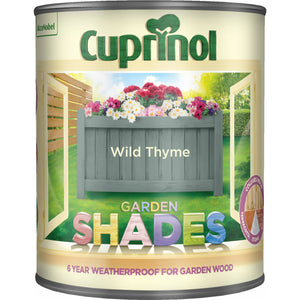 Cuprinol Garden Shades Colours Paint - 1 Litre  At Beattys Loughrea Galway. Www.beattys.ie