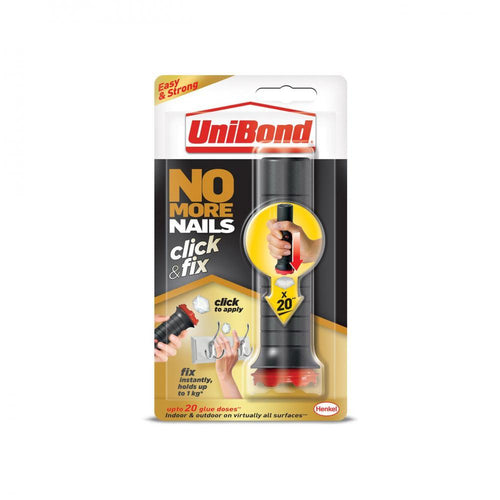 Unibond No More Nails Click & Fix - 30g  At Beattys Loughrea Galway. Www.beattys.ie