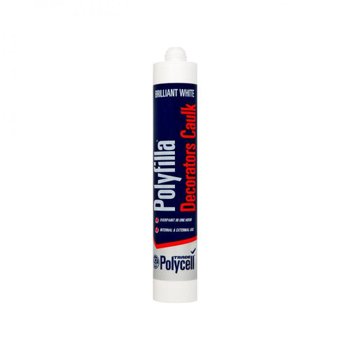 Polycell Decorators Caulk 380ml - White - Beattys of Loughrea , www.beattys.ie