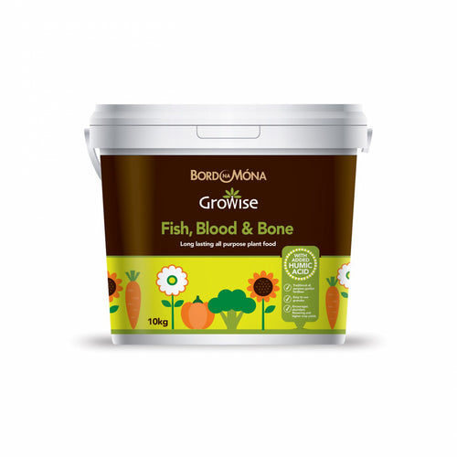 Bord na Mona Growise Fish Blood & Bone - 10kg  At Beattys Loughrea Galway. Www.beattys.ie
