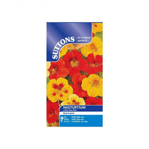 SUTTONS NASTURTIUM LITTLE GEM MIXED 124095 Buy Instore or online at beattys.ie
