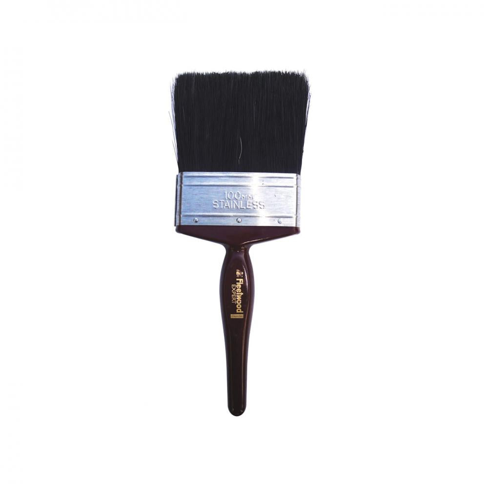 Fleetwood Expert Paint Brush - 4in  At Beattys Loughrea Galway. Www.beattys.ie