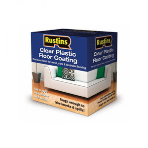 Rustins Plastic Floor Coating Trade Pack Gloss Paint -  At Beattys Loughrea Galway. Www.beattys.ie