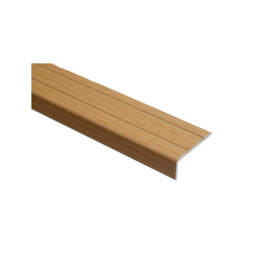 Trojan Self Adhesive Angle Edge 25 x 8mm - Natural Oak - Beattys of Loughrea , www.beattys.ie