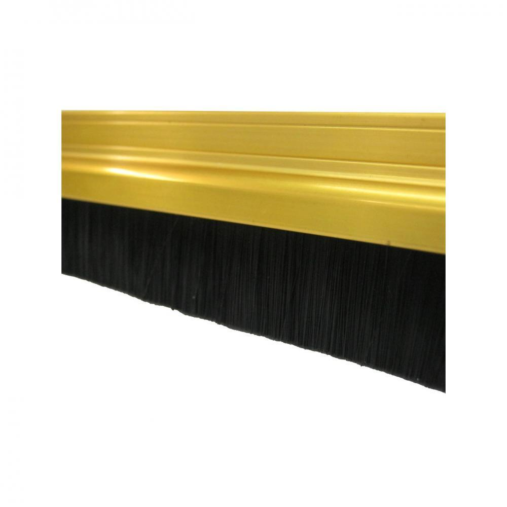Exitex Gold Brush Strip Draught Excluder  At Beattys Loughrea Galway. Www.beattys.ie