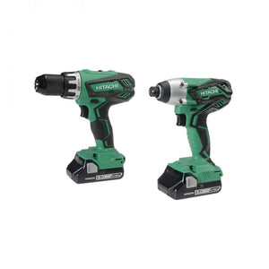 Hitachi Combi & Impact Driver - 18v  At Beattys Loughrea Galway. Www.beattys.ie