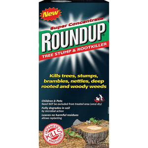 Round Up Tree Stump Killer - 250ml  At Beattys Loughrea Galway. Www.beattys.ie