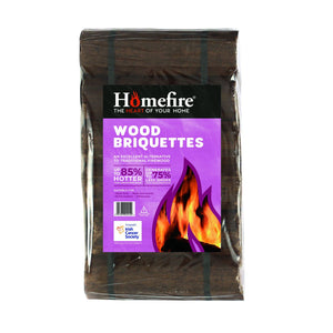 Homefire Homefire Wood Briquettes - 12 Pack  Buy at Beattys Loughrea. Www.beattys.ie